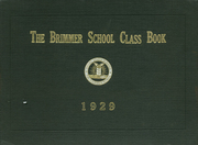 1929 Edition, Brimmer and May School - Yearbook (Chestnut Hill, MA)