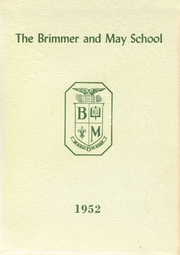 1952 Edition, Brimmer and May School - Yearbook (Chestnut Hill, MA)