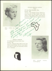 Page 14, 1952 Edition, Brimmer and May School - Yearbook (Chestnut Hill, MA) online yearbook collection