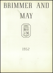 Page 5, 1952 Edition, Brimmer and May School - Yearbook (Chestnut Hill, MA) online yearbook collection