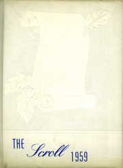 1959 Edition, St Annes School - Scroll Yearbook (Arlington, MA)