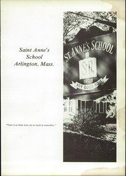Page 5, 1973 Edition, St Annes School - Scroll Yearbook (Arlington, MA) online yearbook collection