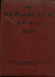 1949 Edition, Dorchester High School for Boys - Red and Black Yearbook (Dorchester, MA)