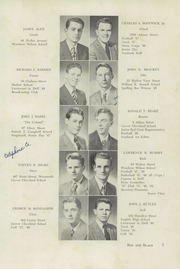 Page 11, 1949 Edition, Dorchester High School for Boys - Red and Black Yearbook (Dorchester, MA) online yearbook collection
