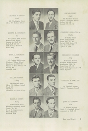 Page 13, 1949 Edition, Dorchester High School for Boys - Red and Black Yearbook (Dorchester, MA) online yearbook collection