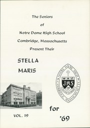 Page 5, 1969 Edition, Notre Dame High School - Stella Maris Yearbook (Cambridge, MA) online yearbook collection