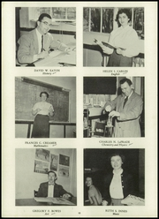 Page 12, 1954 Edition, Holden High School - Clarion Yearbook (Holden, MA) online yearbook collection