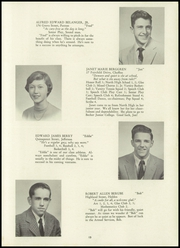 Page 15, 1954 Edition, Holden High School - Clarion Yearbook (Holden, MA) online yearbook collection