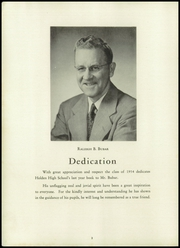 Page 4, 1954 Edition, Holden High School - Clarion Yearbook (Holden, MA) online yearbook collection