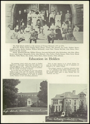 Page 7, 1954 Edition, Holden High School - Clarion Yearbook (Holden, MA) online yearbook collection