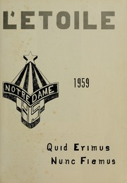 Page 5, 1959 Edition, Notre Dame High School - L Etoile Yearbook (Southbridge, MA) online yearbook collection