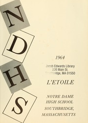Page 5, 1964 Edition, Notre Dame High School - L Etoile Yearbook (Southbridge, MA) online yearbook collection