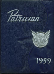 Page 1, 1959 Edition, St Patrick High School - Patrician Yearbook (Brockton, MA) online yearbook collection