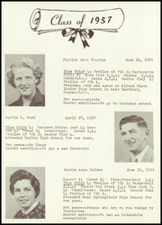 Page 13, 1957 Edition, Chester High School - Blue Print Yearbook (Chester, MA) online yearbook collection