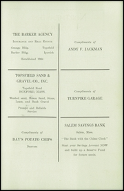 Page 17, 1940 Edition, Topsfield High School - Shenewemedy Yearbook (Topsfield, MA) online yearbook collection