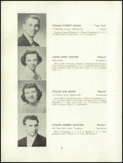 Page 10, 1952 Edition, Templeton High School - Class Book Yearbook (Baldwinville, MA) online yearbook collection