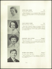 Page 12, 1952 Edition, Templeton High School - Class Book Yearbook (Baldwinville, MA) online yearbook collection