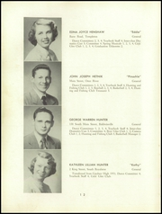 Page 14, 1952 Edition, Templeton High School - Class Book Yearbook (Baldwinville, MA) online yearbook collection