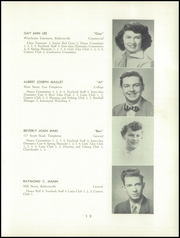 Page 15, 1952 Edition, Templeton High School - Class Book Yearbook (Baldwinville, MA) online yearbook collection