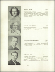 Page 16, 1952 Edition, Templeton High School - Class Book Yearbook (Baldwinville, MA) online yearbook collection