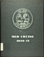 1971 Edition, Meredith (DD 890) - Naval Cruise Book
