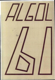 Page 1, 1961 Edition, Carleton College - Algol Yearbook (Northfield, MN) online yearbook collection