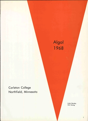 Page 7, 1968 Edition, Carleton College - Algol Yearbook (Northfield, MN) online yearbook collection