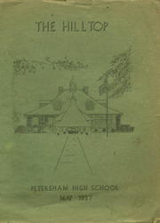Page 1, 1937 Edition, Petersham High School - Hilltop Yearbook (Petersham, MA) online yearbook collection