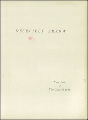 Page 3, 1948 Edition, Deerfield High School - Arrow Yearbook (South Deerfield, MA) online yearbook collection