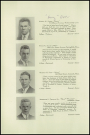 Page 14, 1937 Edition, Wilbraham and Monson Academy - Hill Yearbook (Wilbraham, MA) online yearbook collection