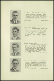 Page 16, 1937 Edition, Wilbraham and Monson Academy - Hill Yearbook (Wilbraham, MA) online yearbook collection
