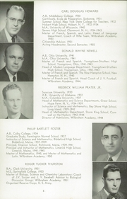 Page 10, 1956 Edition, Wilbraham and Monson Academy - Hill Yearbook (Wilbraham, MA) online yearbook collection