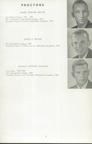 Page 13, 1956 Edition, Wilbraham and Monson Academy - Hill Yearbook (Wilbraham, MA) online yearbook collection