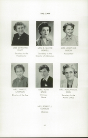 Page 14, 1956 Edition, Wilbraham and Monson Academy - Hill Yearbook (Wilbraham, MA) online yearbook collection