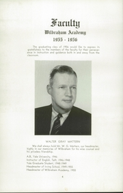 Page 8, 1956 Edition, Wilbraham and Monson Academy - Hill Yearbook (Wilbraham, MA) online yearbook collection