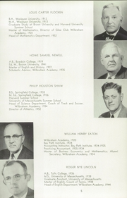 Page 9, 1956 Edition, Wilbraham and Monson Academy - Hill Yearbook (Wilbraham, MA) online yearbook collection