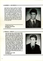 Page 16, 1986 Edition, Wilbraham and Monson Academy - Hill Yearbook (Wilbraham, MA) online yearbook collection