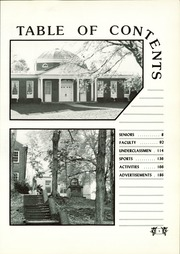 Page 9, 1986 Edition, Wilbraham and Monson Academy - Hill Yearbook (Wilbraham, MA) online yearbook collection