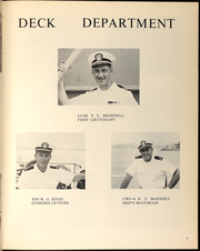 Page 11, 1967 Edition, Neches (AO 47) - Naval Cruise Book online yearbook collection