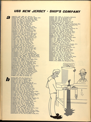Page 17, 1953 Edition, New Jersey (BB 62) - Naval Cruise Book online yearbook collection