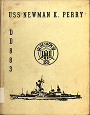 Newman K Perry (DDR 883) - Naval Cruise Book online yearbook collection, 1965 Edition, Page 1