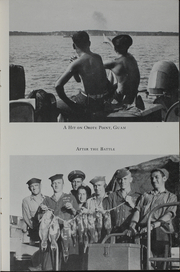 Page 15, 1945 Edition, Custer (APA 40) - Naval Cruise Book online yearbook collection