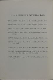 Page 4, 1945 Edition, Custer (APA 40) - Naval Cruise Book online yearbook collection