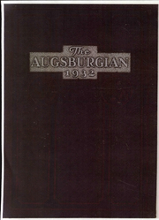 Page 1, 1932 Edition, Augsburg College - Augsburgian Yearbook (Minneapolis, MN) online yearbook collection
