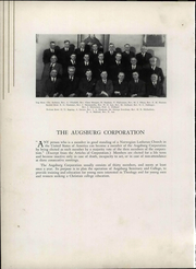 Page 16, 1937 Edition, Augsburg College - Augsburgian Yearbook (Minneapolis, MN) online yearbook collection