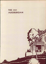 Page 7, 1937 Edition, Augsburg College - Augsburgian Yearbook (Minneapolis, MN) online yearbook collection
