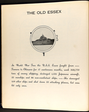 Page 10, 1951 Edition, Essex (CV 9) - Naval Cruise Book online yearbook collection