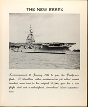Page 11, 1951 Edition, Essex (CV 9) - Naval Cruise Book online yearbook collection