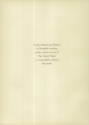 Page 10, 1942 Edition, Deerfield Academy - Pocumtuck Yearbook (Deerfield, MA) online yearbook collection