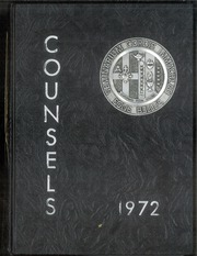 1972 Edition, Immaculate Heart Of Mary Seminary - Counsels Yearbook (Lenox, MA)